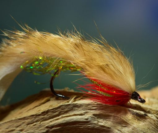 Fly Fishing Lure-Stained Glass Night Light