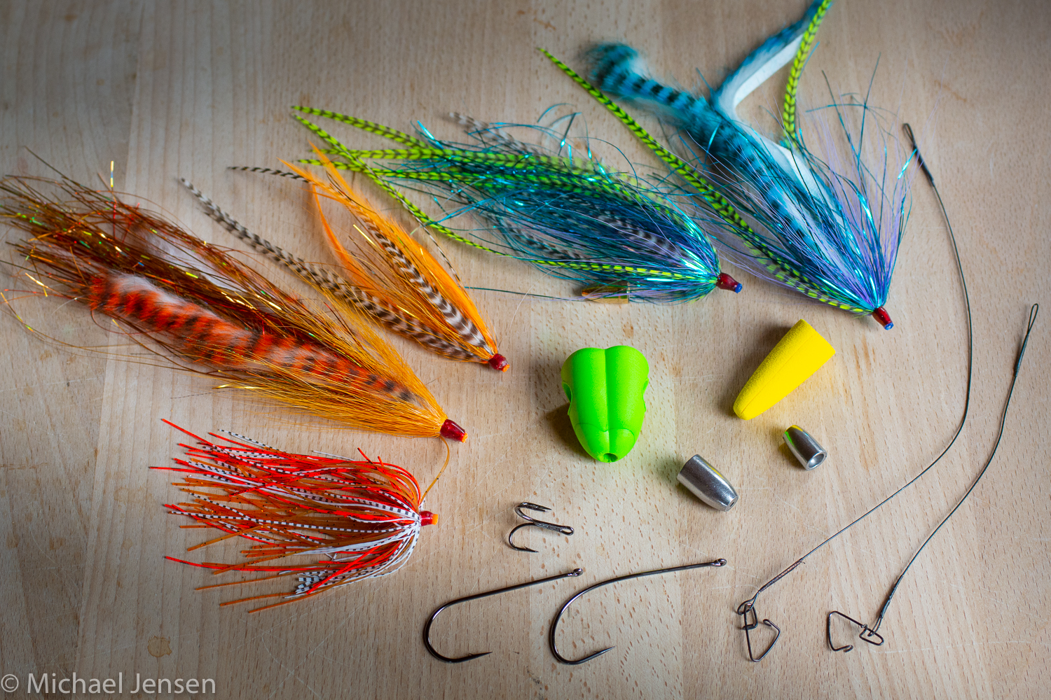 Spy Project - Spin Fly system for predator fishing - Michael