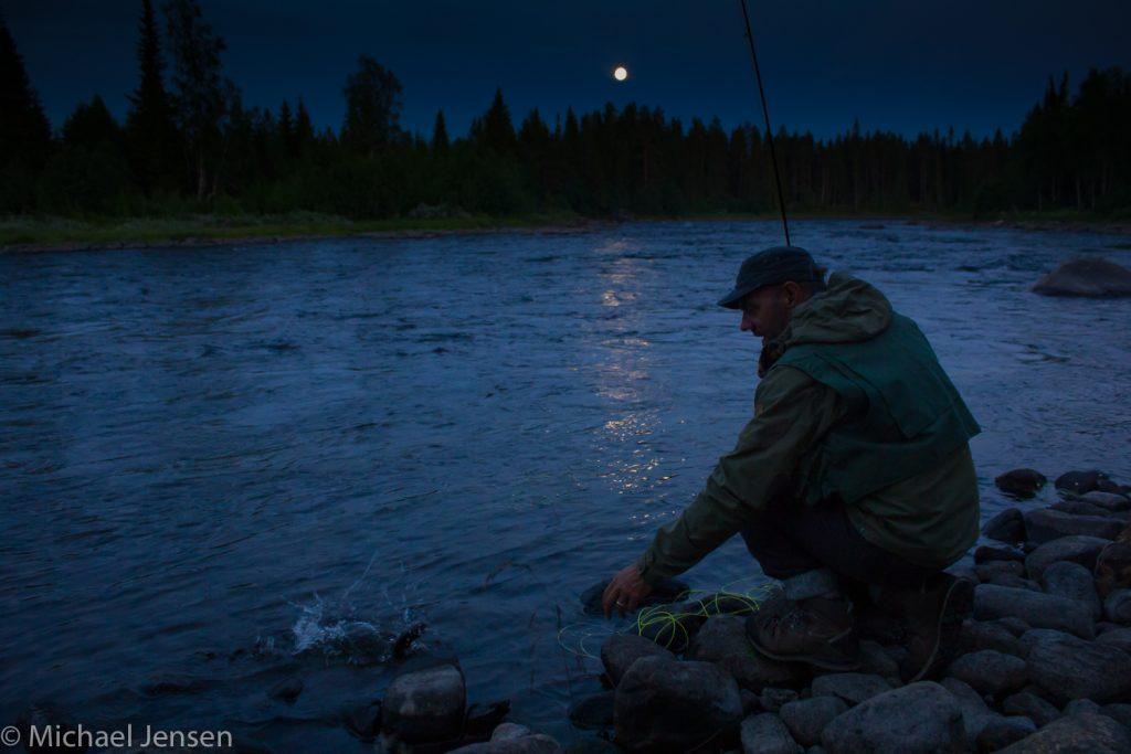 Michael Jensen Fishing a secret river