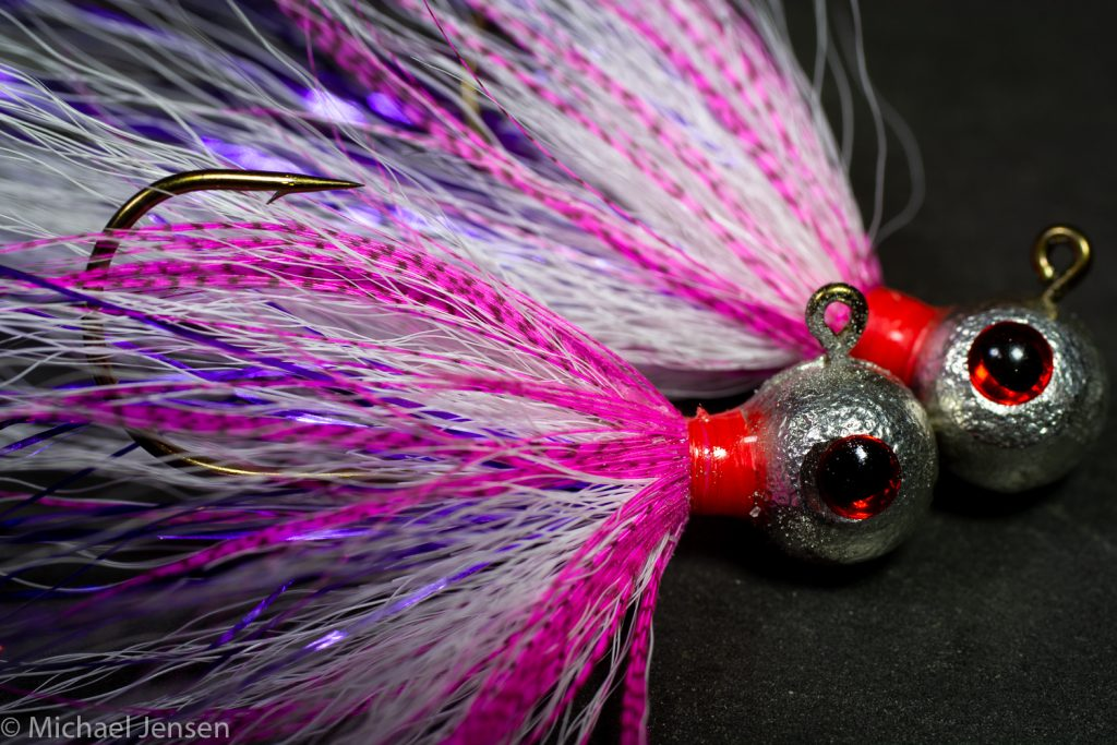 The Blushing Blonde Jig - A reverse tied Classic Bucktail Jig