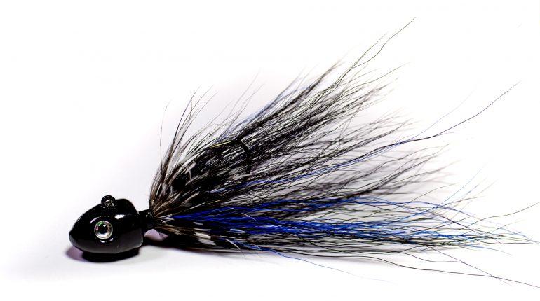 Black'n'Blue Bucktail Jig