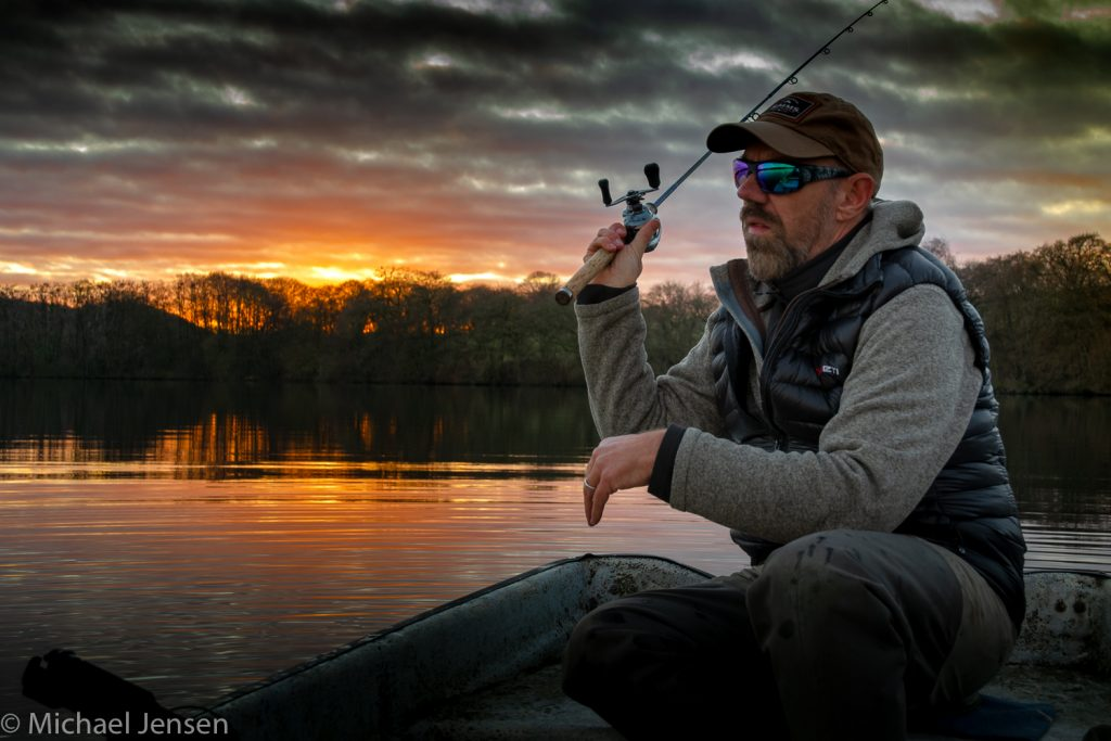 Michael on the dark side Fly and jig tying blacklist