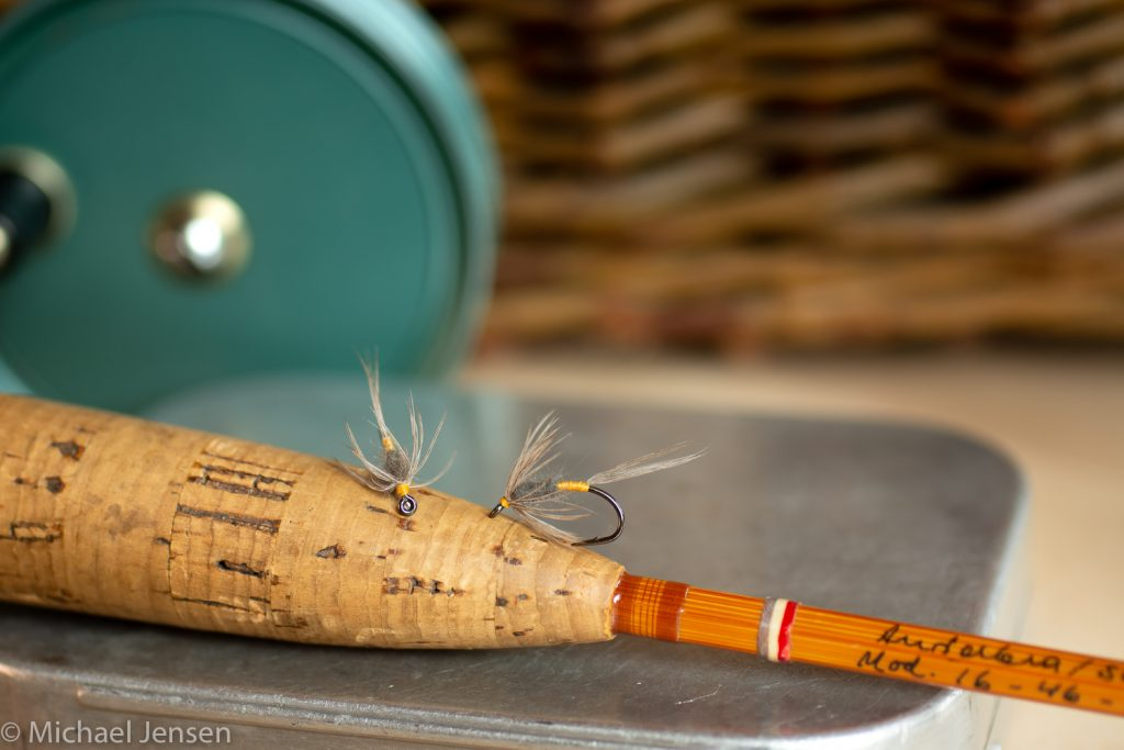 The Blue Dun Soft Hackle tied by Michael Jensen